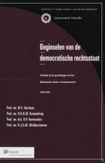 Beginselen van de democratische rechtsstaat M.C. Burkens