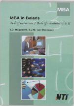 Mba In Balans / Bedrijfseconomie / Bedrijfsadministratie II Sarina van Vlimmeren