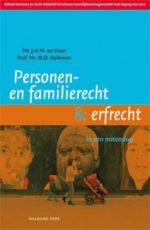 Personen- en familierecht & erfrecht in een notendop J.H.M. ter Haar