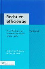 Recht en efficientie B.C.J. van Velthoven