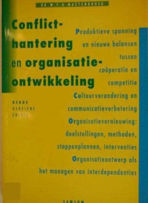 CONFLICTHANTERING ORG.ONTW 3E DR Mastenbroek