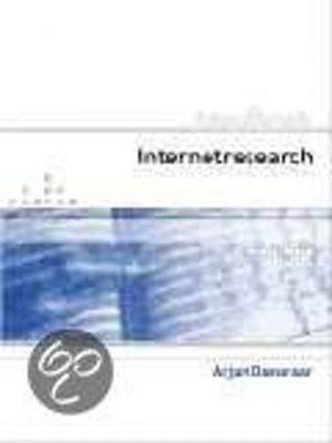 Handboek Internetresearch Arjan Dasselaar