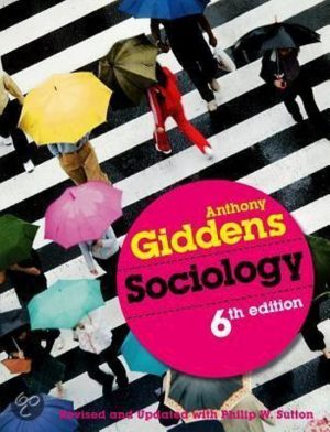 Sociology Anthony Giddens