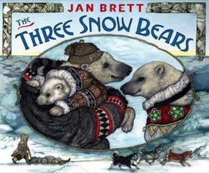 THREE SNOW BEARS Jan Brett