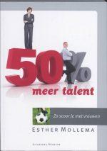 50 % meer talent Esther Mollema