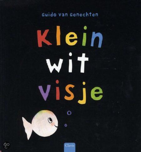 Clavisje - Klein wit visje (mini-editie) Guido van Genechten