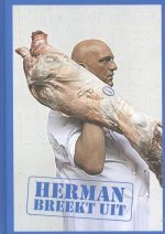 Herman breekt uit kookboek incl. ovenwant & schort Herman den Blijker
